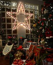 Lighted Christmas Star Ornaments by Diy Lighted Christmas Stars The Navage Patch