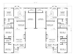 Multi Family Homes Floor Plans 90 Best Duplex Images On Pinterest Country House Plans Ranch