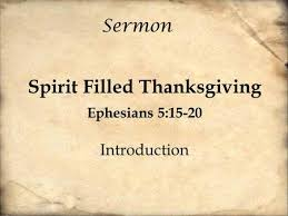 ephesians 5 speak to one another with psalms hymns and spiritual