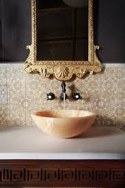 Onyx Sink A Jewel Of A Powder Room Amy Hirschamy Hirsch