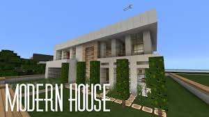 minecraft pe 0 14 0 house showcase modern house w flows hd