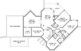 house stone pond house plan green builder house plans