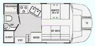 Type B Motorhome Floor Plans Search For Class B Rv Class B Forums