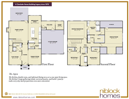 virtual floor plans aspen floor plan 2nd story master bed niblock homes