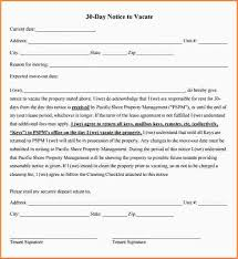 30 day notice letter template best resumes