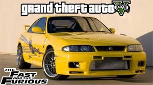 fast and furious 1 cars gta 5 the fast u0026 the furious leon u0027s nissan skyline r33 wagon