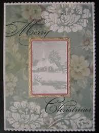 carol wilson christmas cards carol wilson christmas card snowy chruch winter ebay