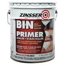 zinsser b i n shellac base primer sealer 5 gl jon don