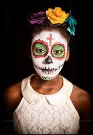 Day Of The Dead White Day Of The Dead Gothic Priest Communion Sugar Skull Makeup