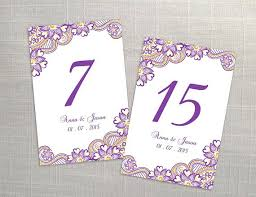 wedding table numbers template printable table number wedding printable table numbers