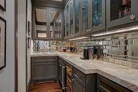 Mirrored Kitchen Backsplash Mirrored Subway Tiles For A Kitchen Backsplash Mirror Ideas