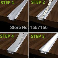 led cove lighting strips led recessed strip lights with aluminum channel and plastic lens