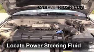 hyundai elantra power steering fluid fix power steering leaks hyundai elantra 1996 2000 1999