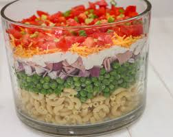 layered pasta salad the farmwife cooks