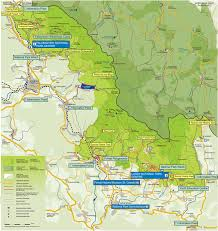 Bavaria Germany Map by Map Of Facilities And Visitor Attractions In The Bavarian Forest