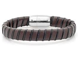 leather bracelet magnetic images Men 39 s leather bracelets jpg