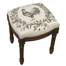 furniture cushioned stool vanity bench seat upholstered