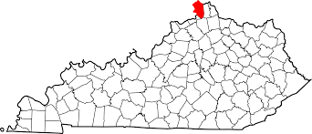 Boone Map File Map Of Kentucky Highlighting Boone County Svg Wikimedia Commons