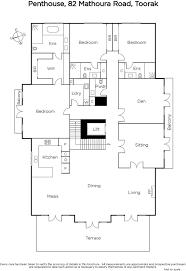 shaughnessy floor plan penthouse 82 mathoura road toorak marshall white