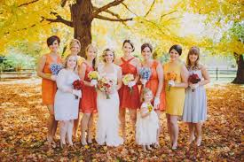 Wedding Bridesmaid Dresses Fall Wedding Bridesmaid Dresses Colors Pictures Ideas Guide To