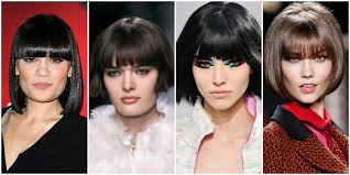 hairstyles for straight across bangs 10 best short hairstyles with bangs the trend spotter