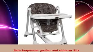 Peg Perego Prima Pappa Rocker High Chair Peg Perego H1ppdpsa47 Prima Pappa Diner Savana Cacao Youtube