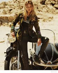 fall motorcycle jacket kate moss in biker jackets for matchless london u0027s fall 2014 ads