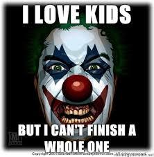 Scary Clown Meme - creepy f9041d 808224 jpg via relatably com pictures pinterest