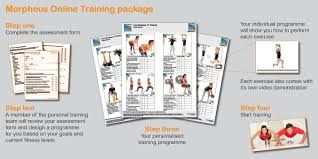 online personal trainer home gym exercise programme