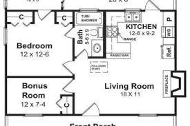 Simple House Floor Plans With Measurements 16 Simple Open Floor Plans Gallery For Simple House Floor Plan