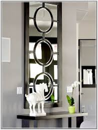 Black Foyer Table Foyer Console Table And Mirror Home Design Ideas