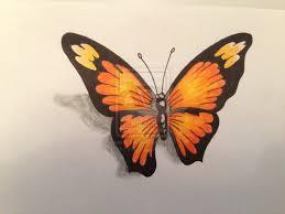 design sketch 3d butterfly 18 butterfly drawings ideas
