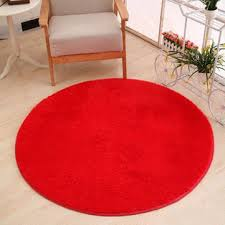 Red Round Rug Wholesale Carpet Tiles Cheap Area Rug Floor Yoga Mats For Sale
