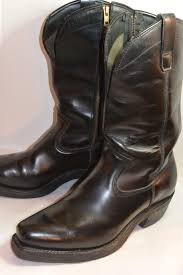 black leather motorcycle boots vintage leather motorcycle boots classic vintage apparel