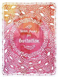 texte voeux mariage invitation de mariage sur le fond d aquarelle carte de voeux avec