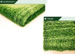 Grass Area Rug Green Artificial Grass Area Rug Grass Height 0 4 Size