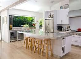 cuisine moderne blanche cuisine avec ilot central table 9 photos de cuisine moderne