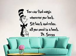 Dr Seuss Nursery Wall Decals by Dr Seuss Wall Decal Quote Vinyl Sticker Decals Quotes You Can Find