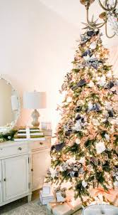 White Christmas Tree With Gold Decorations Parade Of Christmas Trees 2016 Featuring Balsam Hill