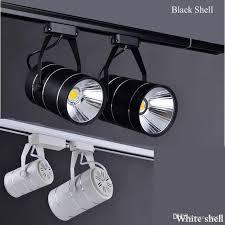 wholesale cree cob led track lights spotlights 9w 12w clothing store
