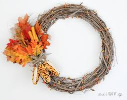 fall wreaths how to make an easy diy fall wreath anika s diy