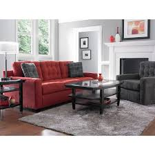 trudy u0027s living room ethan sectional with cuddler corner