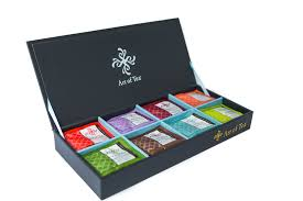 assorted gift boxes pyramid teabag gift box
