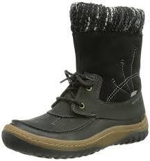 boots uk waterproof merrell decora bolero waterproof s zip boots black 8
