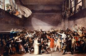 the french revolution was plotted on a tennis court history in