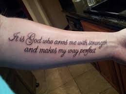 psalm 27 tattoos for lastly for now and my most favorite