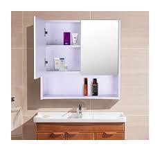 badezimmer hängeschrank mit spiegel homcom spiegelschrank badschrank mit spiegel edelstahl 834 066