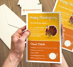 free thanksgiving invitations 10 best images of thanksgiving invitation template free