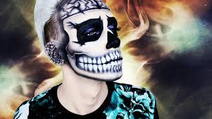 imagenes de calaveras hombres maquillajes de halloween las 34 ideas más escalofriantes