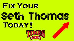 Mantle Clock Repair Seth Thomas Clock Repair Youtube